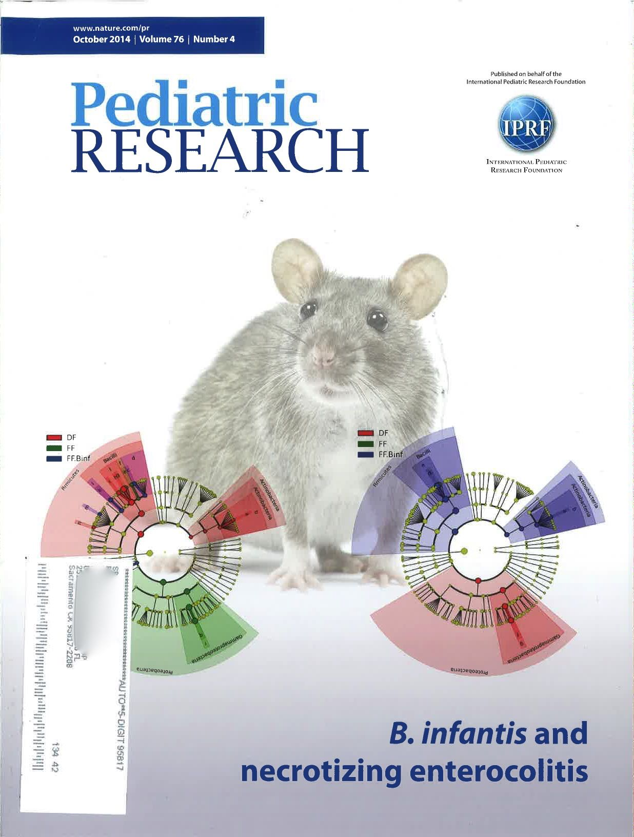 Pediatric Research Book Cover