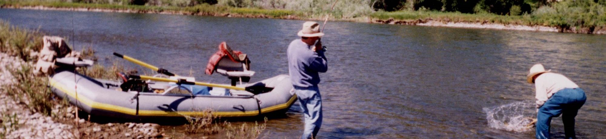 Dr. David Mills fishing